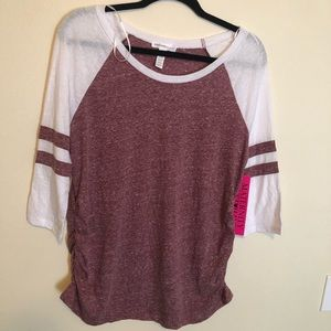 Maternity Raglan Top